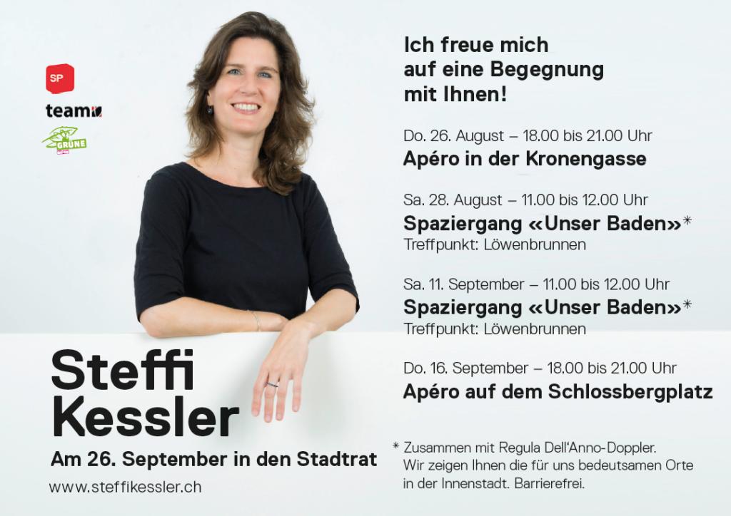 Begegnen Sie Steffi Kessler in Baden